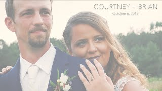 Courtney + Brian's First Look Trailer