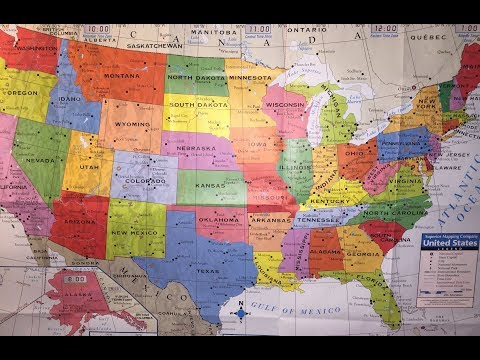 MAP OF USA (states) | GEORGIA VLOG