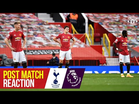 Post Match Reaction   Ole Gunnar Solskjaer and Scott McTominay   Manchester United