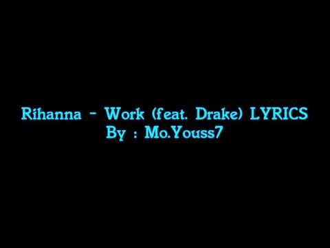 Work song by Justin Bieber.
