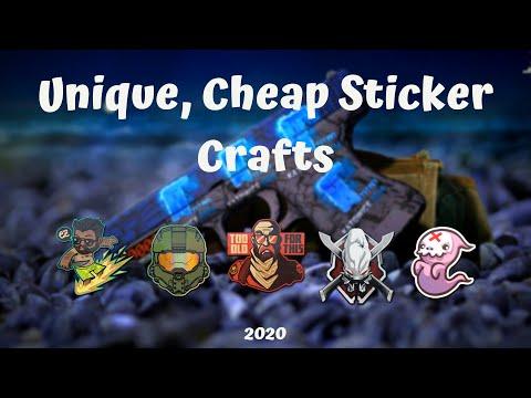 Cool, Cheap CSGO Sticker Crafts 2020 | CSGO Skins 2020