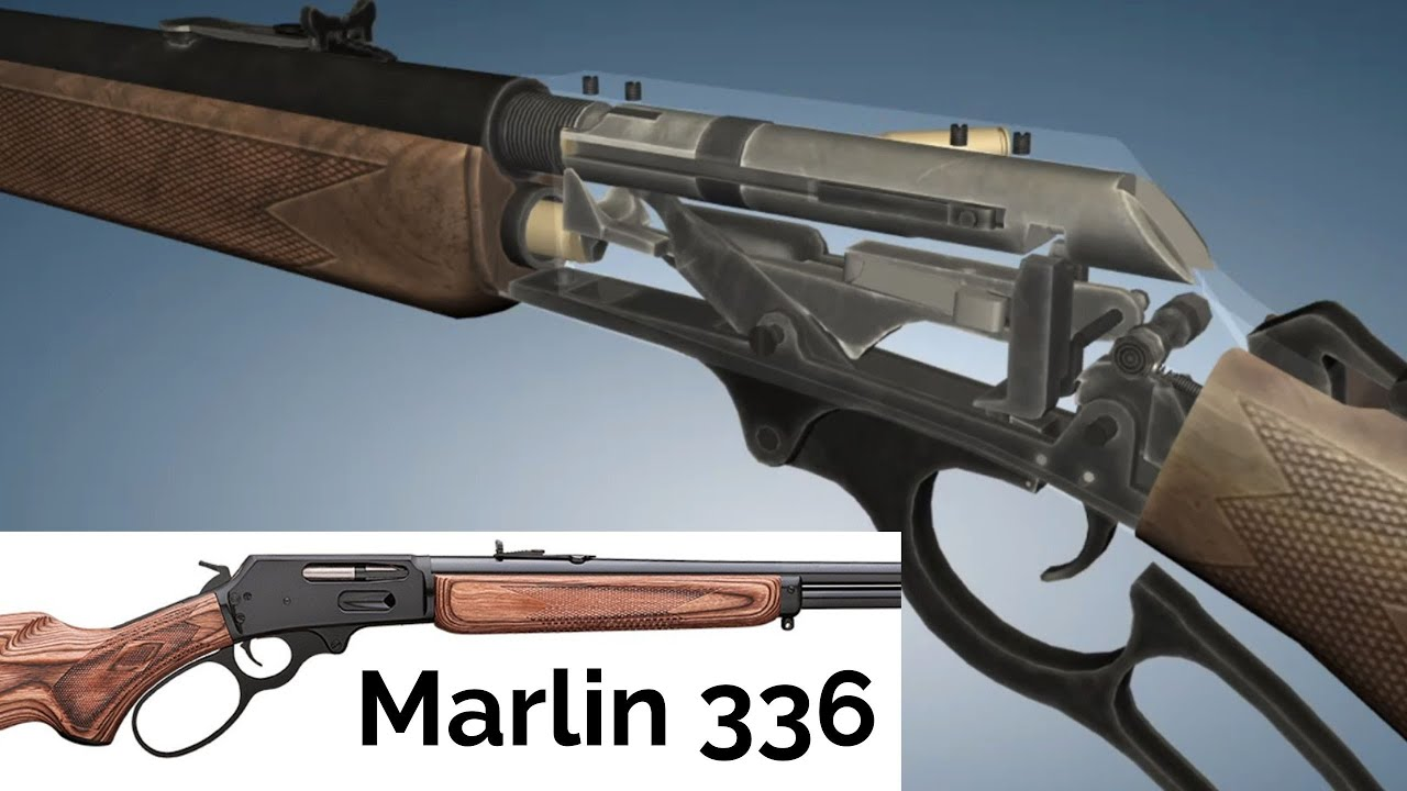 Download 3D Animation: How a Marlin 336 Lever-Action Rifle works