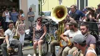 "Tuba Skinny - ""Mean Blue Spirits"" 4/11/14 @Royal St., FQF"