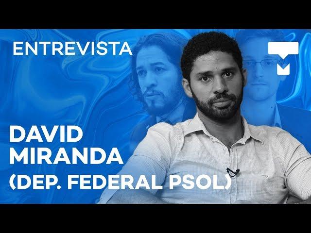 Substituto de Jean Wyllys, David Miranda detalha caso Snowden - TecMundo
