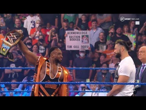 Download Big E and Finn Bálor confront Roman Reigns - WWE SmackDown 9/17/21