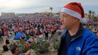 1000 пляжных Санта-Клаусов и с Наступающими!(, 2018-12-25T21:24:42.000Z)