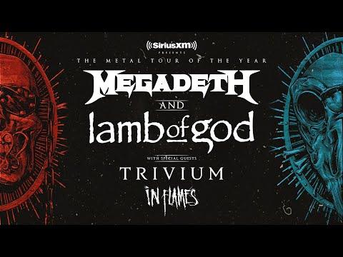 Megadeth & Lamb Of God 2020 | Metal Tour Of The Year