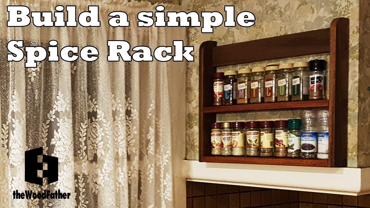 Build A Simple Spice Rack