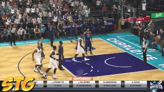 NBA 2k15 PS4 HD Gameplay - New Orleans Pelicans vs Charlotte Hornets!