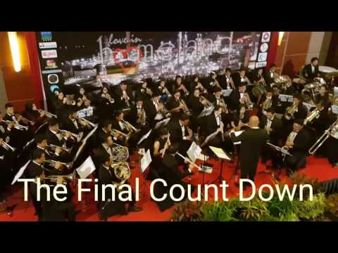 """The Final Count Down"" in The City of Balikpapan Orchestra"