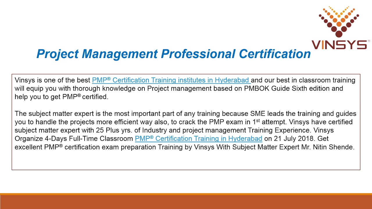 Why Pmp Certified Professionals Are In Demand Globally Youtube