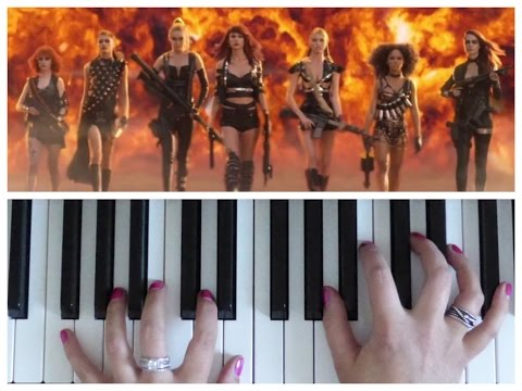 BAD BLOOD by Taylor Swift | Easy PIANO Tutorial