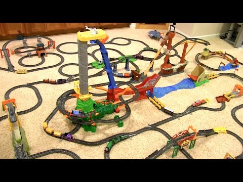 Thomas & Friends Motorized TrackMaster Layout – Basement Layout (2017)