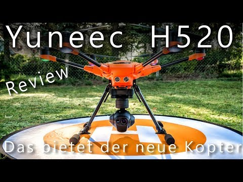 Yuneec H520 World's first review - This can be all the new drone of Yuneec