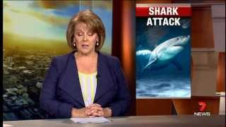 Shark Attack | 7news Perth | 8/10/2013