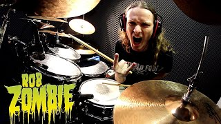 ROB ZOMBIE drumming (song from album The Lunar Injection Kool Aid Eclipse Conspiracy 2021)
