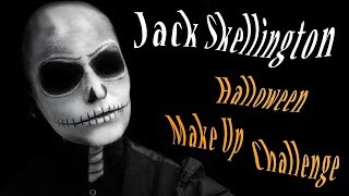 Jack Skellington    Halloween Make Up Challenge!