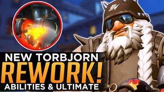 Overwatch: NEW Torbjorn REWORK - Abilities & Ultimate Gameplay!