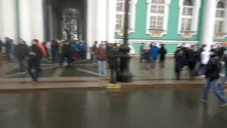 Митинг в Санкт-Петербурге на Дворцовой. 26.03.2017