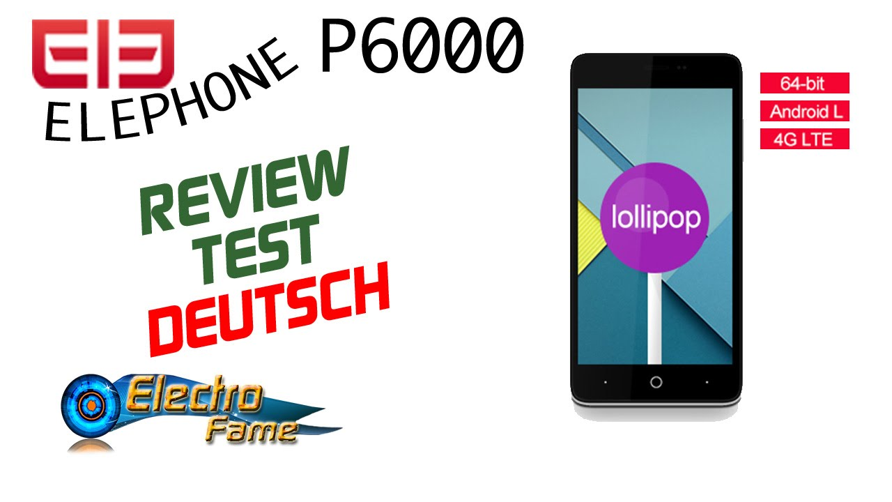 Elephone p8 test deutsch