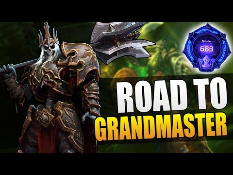 Leoric - the sacrificial lamb to the GM slaughter // Road to Grandmaster S3 // Heroes of the Storm