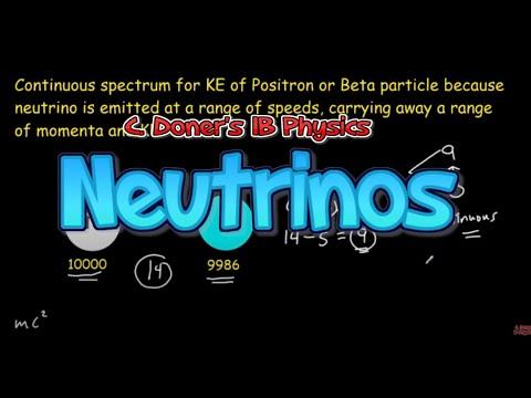 IB Physics: Postulating the Neutrino
