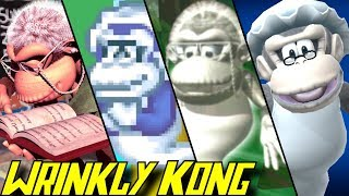Evolution of Wrinkly Kong (1995-2018)