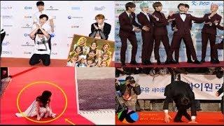 Funny Kpop Idols VS Red Carpet