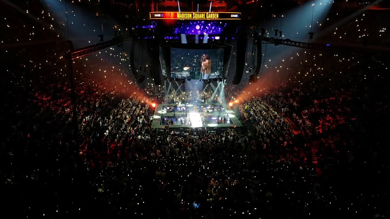 Marc Anthony Opening Song At Madison Square Garden Youtube