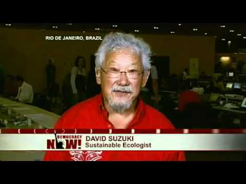 Canadian Environmentalist David Suzuki on Democracy Now! From Rio+20 U.N Summit (Part 1 of 2)