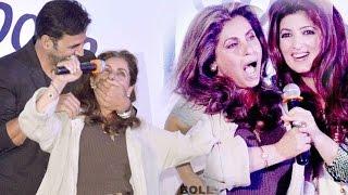 Akshay Kumar & Dimple Kapadia's MADNESS @ Twinkle Khanna's Book Launch