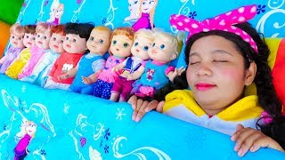 Ten in a Bed ~ Fun Songs for Children #3