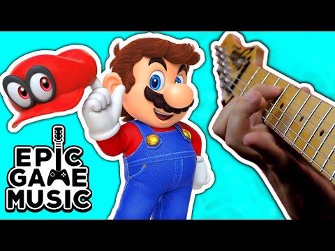 MO: Super Mario Odyssey Trailer Theme (Guitar Remix) || Epic Game Music