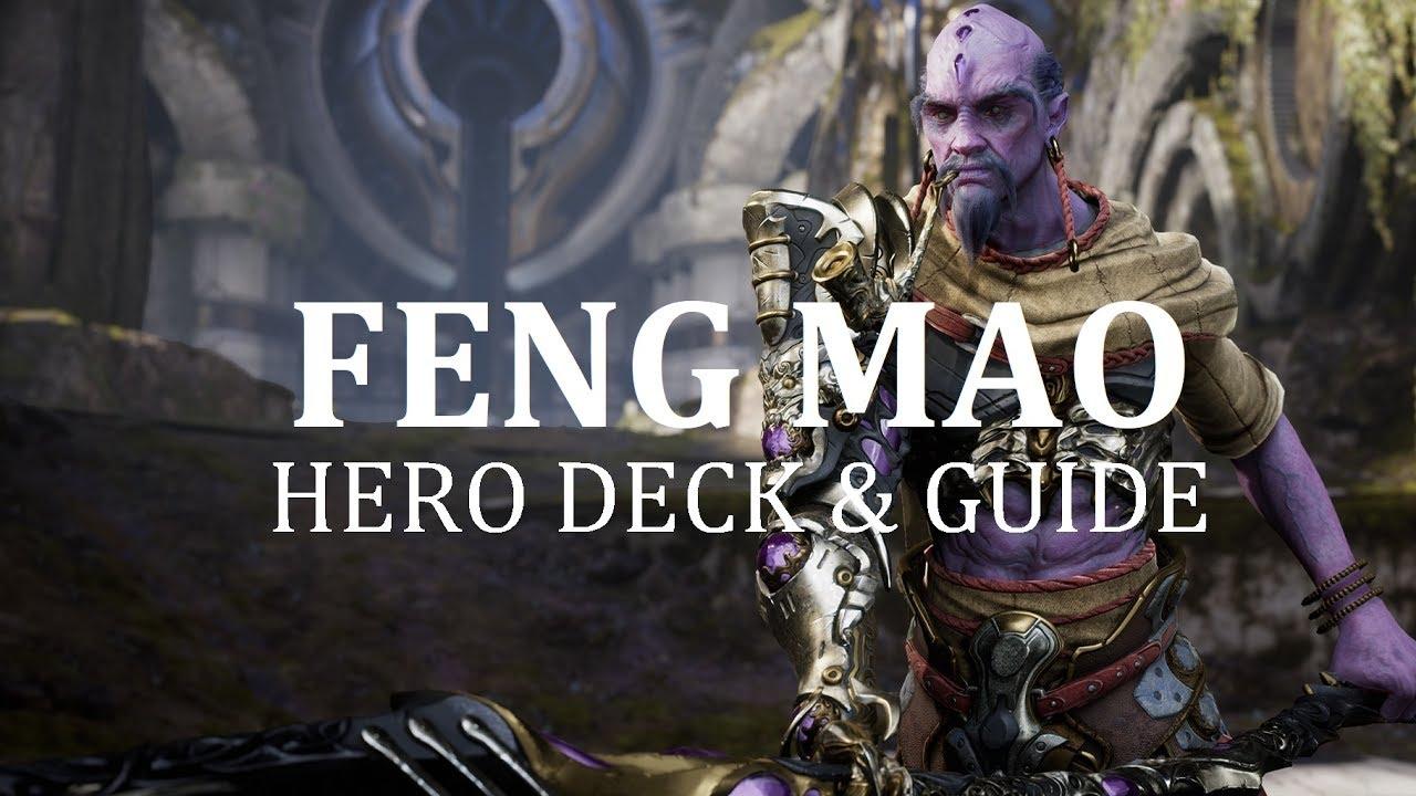 shugoki feng mao deck guide v40 1 youtube