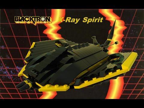 Blacktron X-Ray Spirit Lego MOC