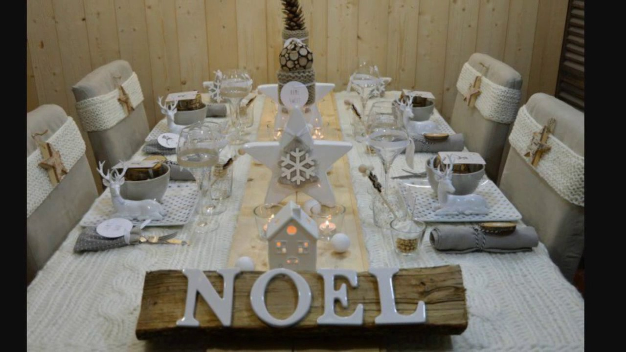 Comment faire la plus belle table de no l jour de l 39 an id e de decoration bonne fete a tous - Table de fete decoration noel ...