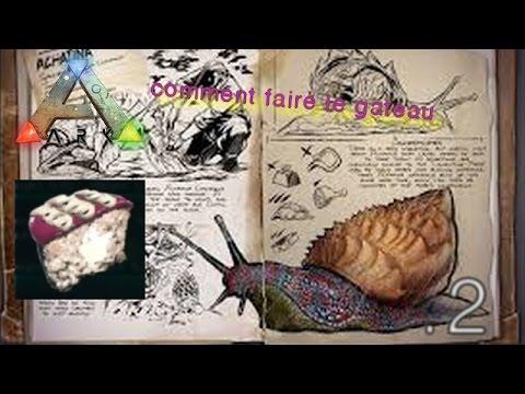 Faire Le Gâteau Pour Apprivoiser Lachatina Ps4xbox Onepc Ark