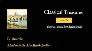 Johann Sebastian Bach - IV. Bourrée