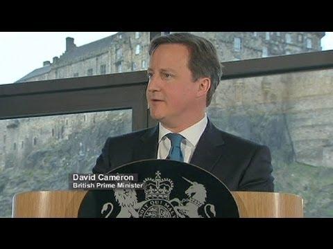 Großbritannien Kämpft Um Schottland