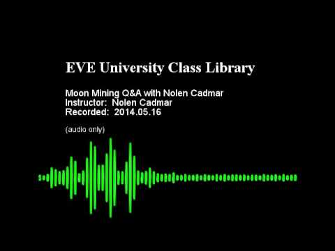Moon Mining Q&A with Nolen Cadmar 2014.05.16