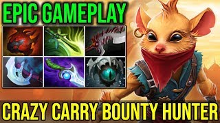Carry Bounty Hunter is Back Boys - The Real Assassin Here 6Slots 23Kills 7.19 | Dota 2 Highlights