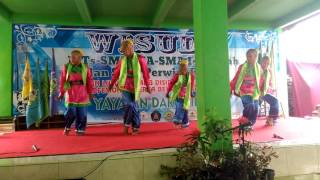Video Ekskul tari MTs Islamiyah Sawangan Depok download MP3, 3GP, MP4, WEBM, AVI, FLV Desember 2017