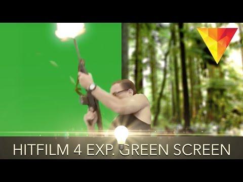 Hitfilm Express Green Screen Tutorial!
