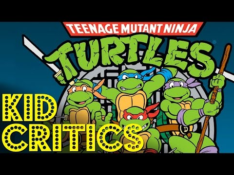 "Kid Snippets Critics: ""Teenage Mutant Ninja Turtles"""