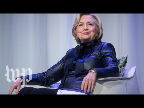 Clinton speaks about women's leadership and human rights