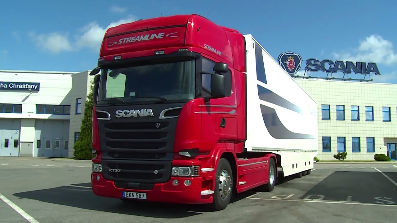 Scania R730 Streamline - YouTube