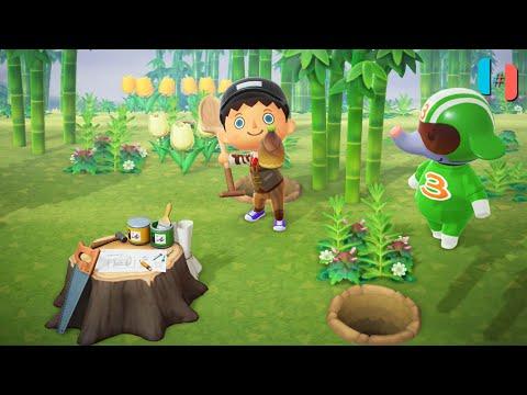 Animal Crossing: New Horizons Ingame / Gameplay (Ryujinx Custom Build) Part 11