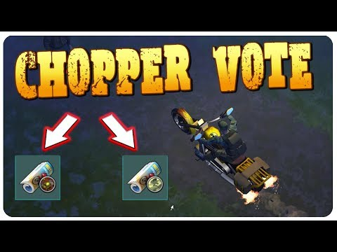 CHOOSE MY NEW CHOPPER PATTERN - Viewers Vote! | Last Day On Earth Survival