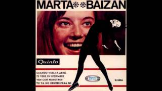 Marta Baizán - Te veré en septiembre