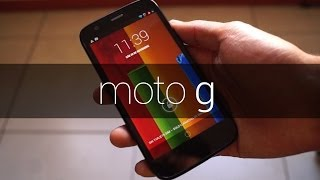Motorola Moto G - Review en español